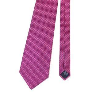 "Brooks Brothers Hot Pink Pure Silk Tie USA 57""L"